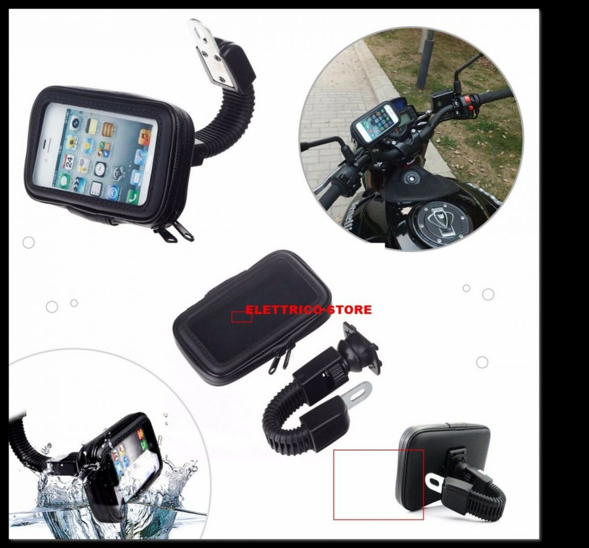 CUSTODIA IPHONE ANDROID GALAXY MOTO SMARTPHONE NAVIGATORE DA